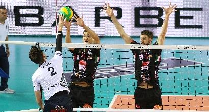 SuperLega Volley: clamoroso ko Lube, Perugia si prende la vetta