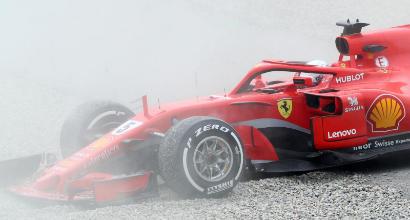 Formula 1, Day-2 dei test a Barcellona: Vettel è il più veloce