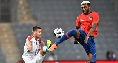 Amichevoli: flop Serbia contro il Cile, il Marocco vince in rimonta