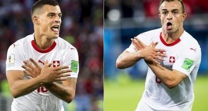 Mondiali 2018, i tifosi kosovari pagano le multe degli svizzeri Shaqiri, Xhaka e Lichtsteiner