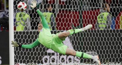 Mondiali 2018, Pickford paratutto: l'Inghilterra ha finalmente un portiere