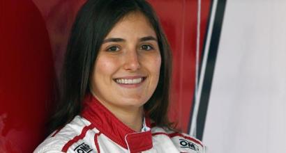 Formula 1, Tatiana pronta a scendere in pista con la Sauber-Alfa Romeo