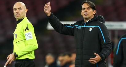 """Lazio, Inzaghi: """"Non mi stanno bene le due ammonizioni ad Acerbi"""""""