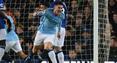 Premier League: il City passa con l'Everton e aggancia il Liverpool