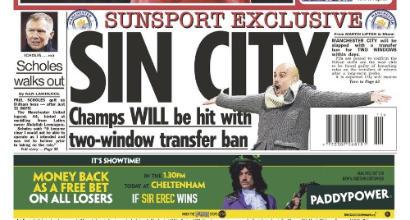 In Inghilterra sono sicuri: Manchester City, mercato bloccato due sessioni