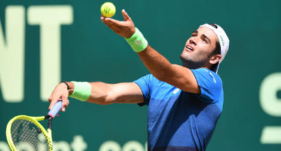 Tennis, Atp Halle: Berrettini si arrende a Goffin in semifinale