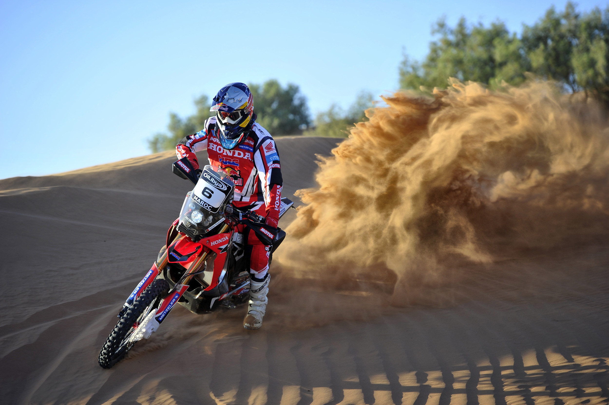 Dakar, ecco la Honda CRF450 Rally