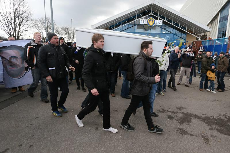 Leeds, funerali a Cellino
