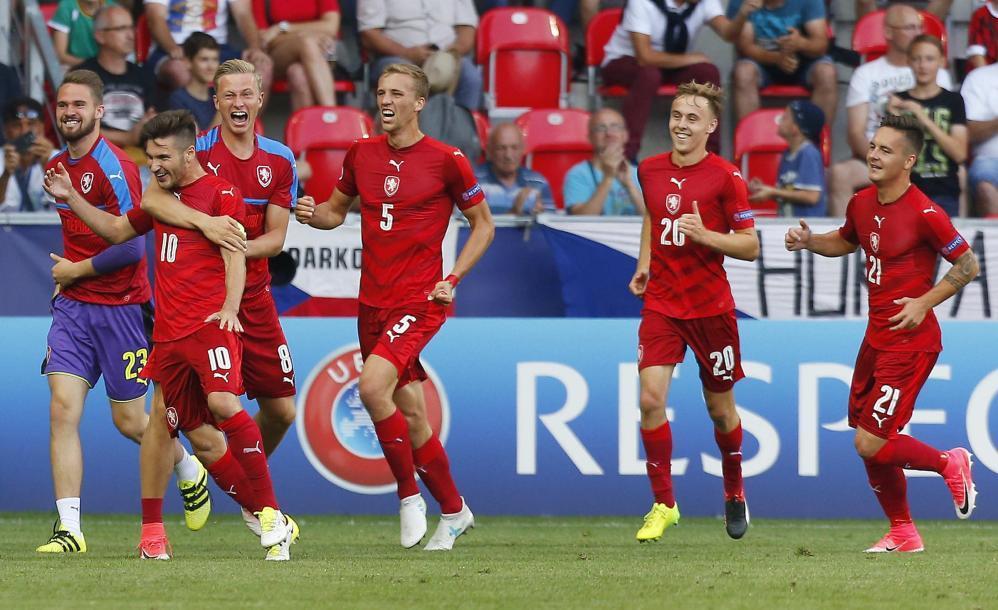 Europeo Under 21, Repubblica Ceca-Italia 3-1: le foto del match