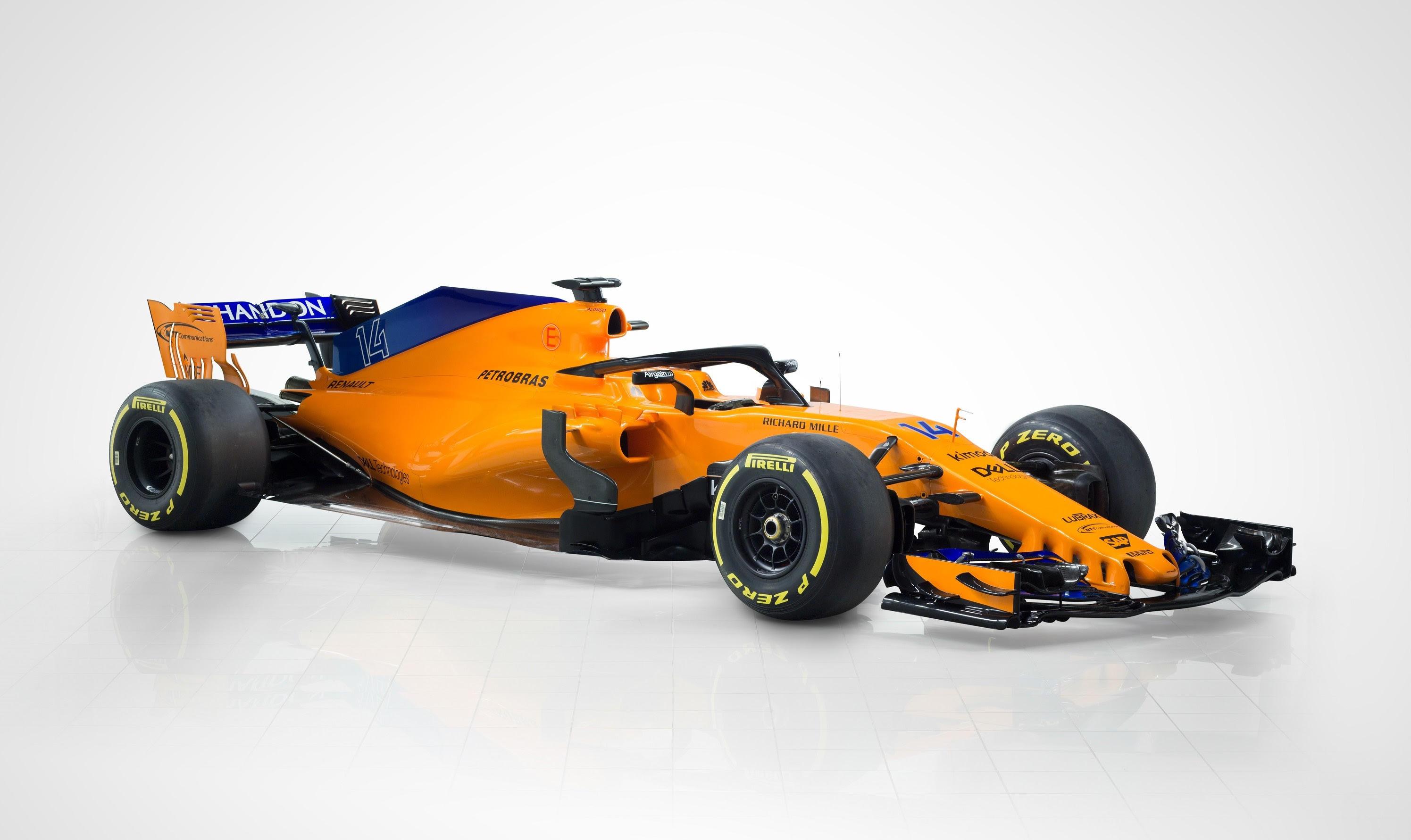 Ecco la nuova McLarens MCL33: è arancio papaia