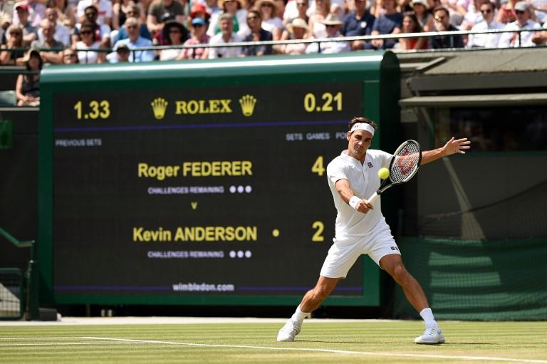 Wimbledon 2018: Federer abdica, Anderson in semifinale