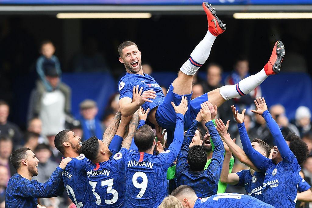 Gary Cahill, 33 anni, ha salutato il Chelsea