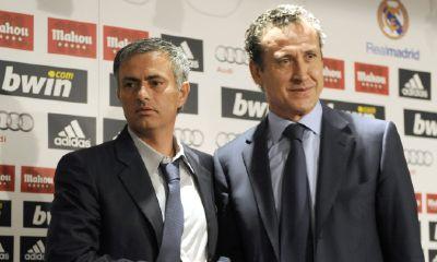 Mourinho e Valdano (Afp)