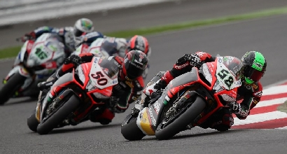 Superbike in gara a Silverstone (Afp)