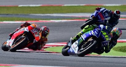 MotoGP in pista (Afp)