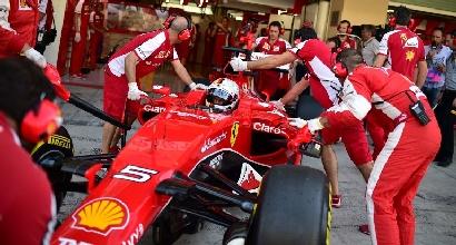 """Ferrari, Vettel: """"Nessun problema, errore nostro nel Q1"""""""