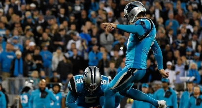 Nfl: i Panthers si salvano, cadono i Saints