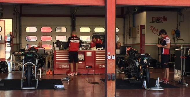 """Superbike, test al Mugello per Melandri: """"Giornata produttiva"""""""