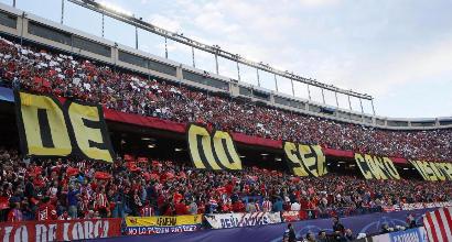 Atletico Madrid, seggiolini del Vicente Calderon gratis per gli abbonati