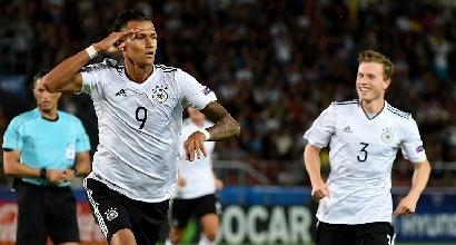 Europei under 21, girone C: l'Italia batte 2-0 la Danimarca