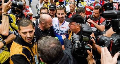 "Sagan: ""Il Mondiale è dedicato a Scarponi"""