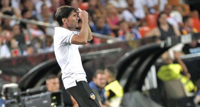 Valencia, Marcelino si fa male esultando al gol di Zaza