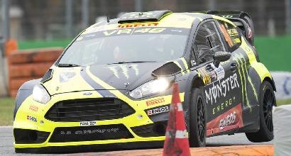 Monza Rally Show, Rossi al comando
