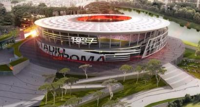 La Roma fra tre anni avrà il nuovo stadio: è arrivato il sì