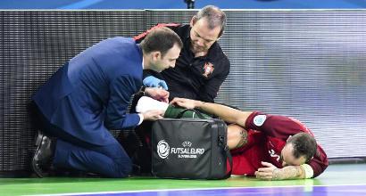 Futsal, Ricardinho come CR7: vince gli Europei da infortunato
