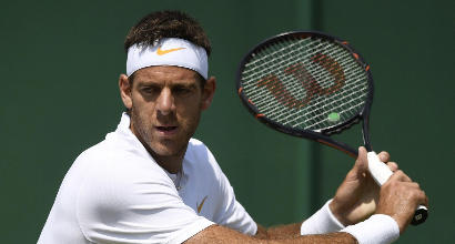 Wimbledon 2018: Del Potro esulta, ora i quarti con Nadal