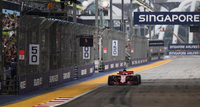 Formula 1, dove vedere il GP di Singapore in TV e streaming