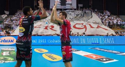 Volley, Perugia e Modena volano in Superlega: gli umbri al comando