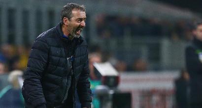 """Sampdoria, Giampaolo non ci sta: """"Fallo clamoroso sul 2-1. Dovevamo vincere"""""""