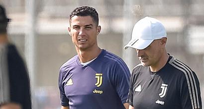 Juventus, nessuna lesione per Ronaldo: ma resta in dubbio per il Napoli