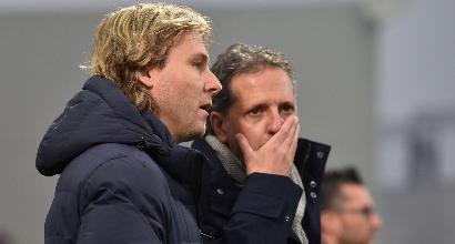 """Juve, Nedved: """"Il rinnovo di Allegri non può dipendere da una partita"""""""