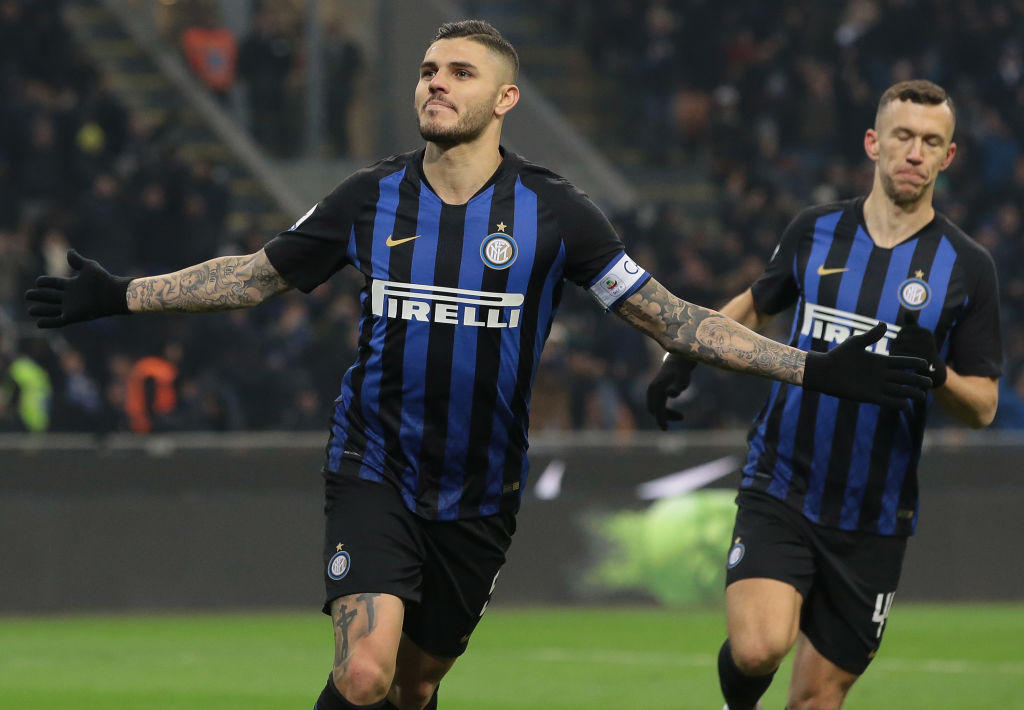 14. Icardi (Inter): 25 gol (21 Serie A, 4 Champions League)