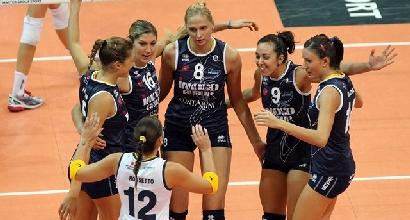 Volley, Champions donne: Conegliano dà spettacolo e cala il tris