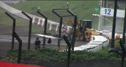 L'incidente di Bianchi, foto IPP