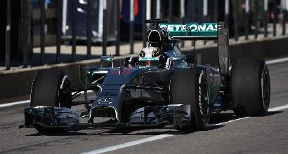 F1, Hamilton stratosferico nelle terze libere ad Austin