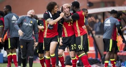 Euro 2016, amichevoli: il Belgio c'è, Norvegia piegata in rimonta