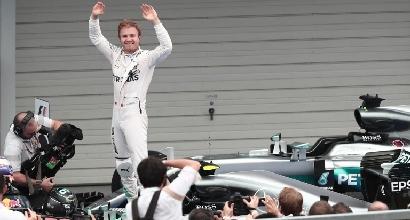 F1, Rosberg campione del mondo se...