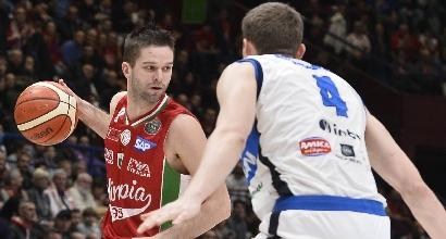 Basket, Serie A: Milano piega Brescia, Reggio Emilia espugna Venezia