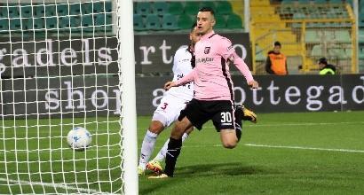 Serie B: tutto facile per il Palermo, il Frosinone resiste in rimonta
