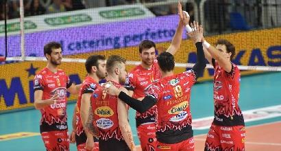 Volley, Perugia e Lube a braccetto