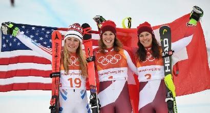 Olimpiadi PyeongChang, combinata donne alla Gisin: Shiffrin argento, Vonn fuori