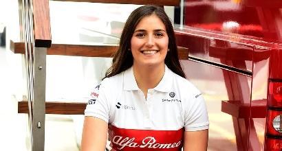 F1, Tatiana Calderon nuovo test driver dell'Alfa Romeo Sauber