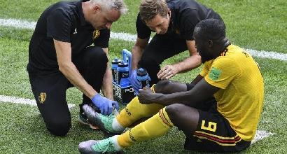 Mondiali 2018, Belgio: problema alla caviglia per Lukaku. Ma Batshuayi è pronto...