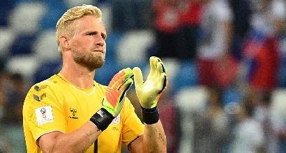 Mondiali 2018, per Subasic e Schmeichel una serata da supereroi: sei rigori parati ma gode solo il croato