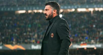 """Betis-Milan 1-1, Gattuso: """"Mi è piaciuta la voglia di non mollare mai"""""""