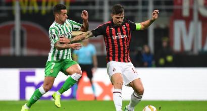 Guai per Mancini e Gattuso: si è fermato Romagnoli